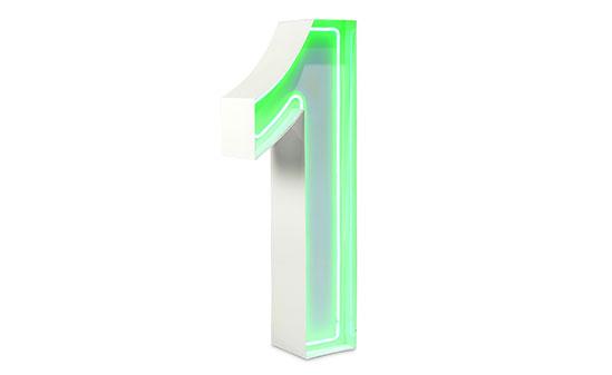 1m Neon Green
