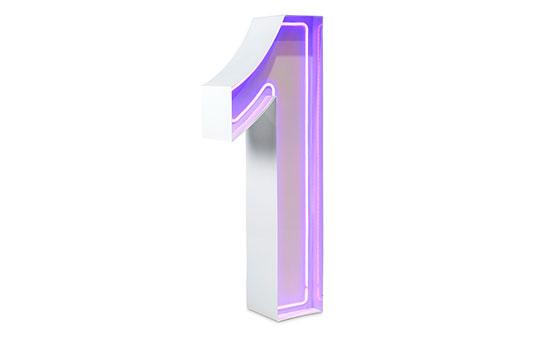 1m Neon Purple