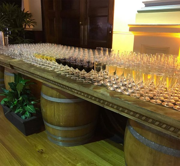 Barrel Whiskey Bar/Table